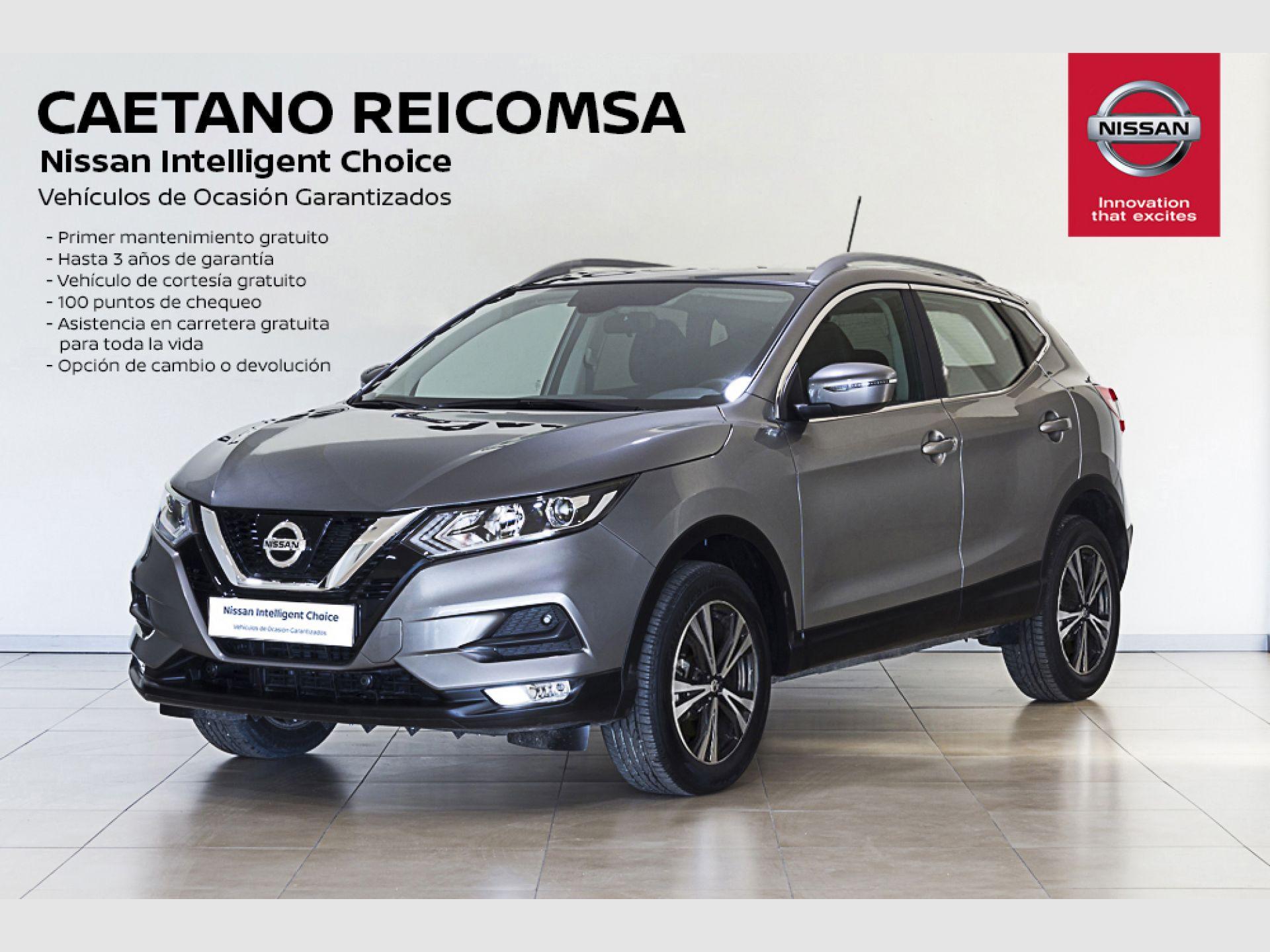 Nissan Qashqai DIG-T 103 kW (140 CV) E6D ACENTA N-VISION segunda mano Madrid