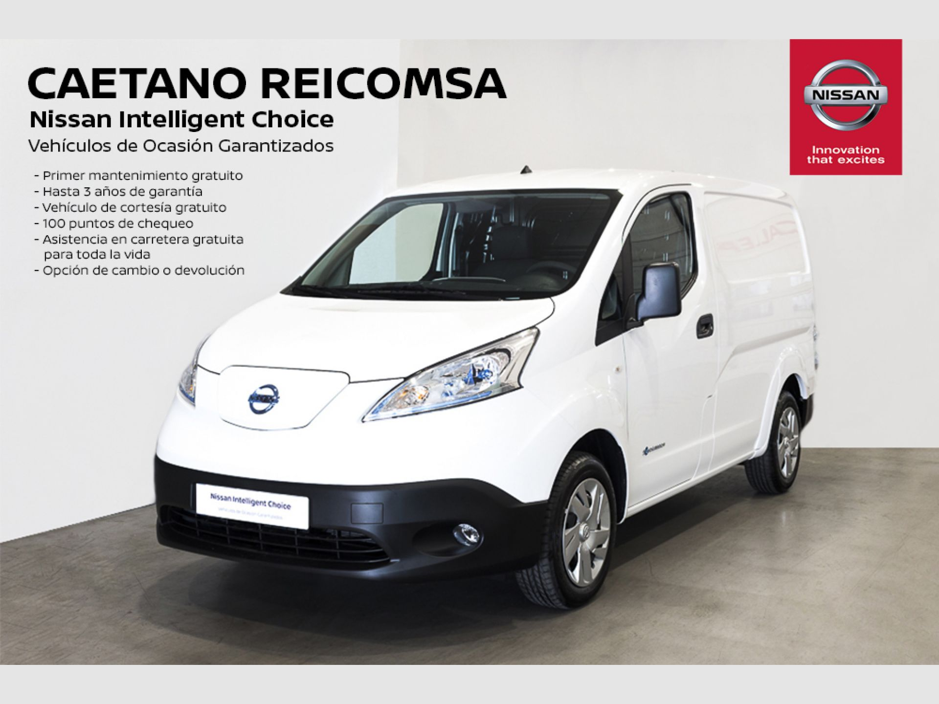 Nissan e-NV200 Furgón 5p 40 kWh COMFORT segunda mano Madrid