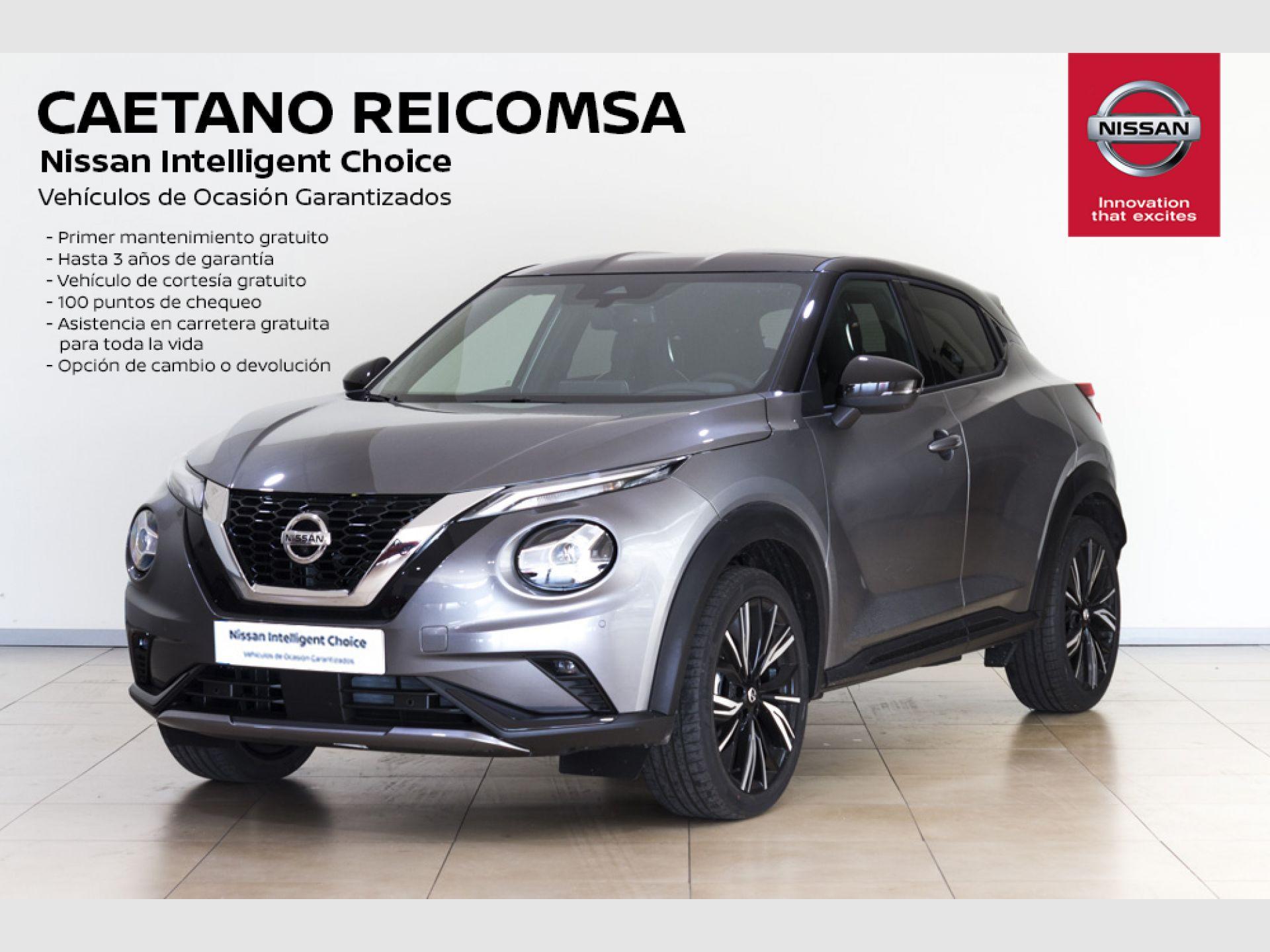 Nissan JUKE DIG-T 86 kW DCT N-DESIGN CHIC Bitono N segunda mano Madrid