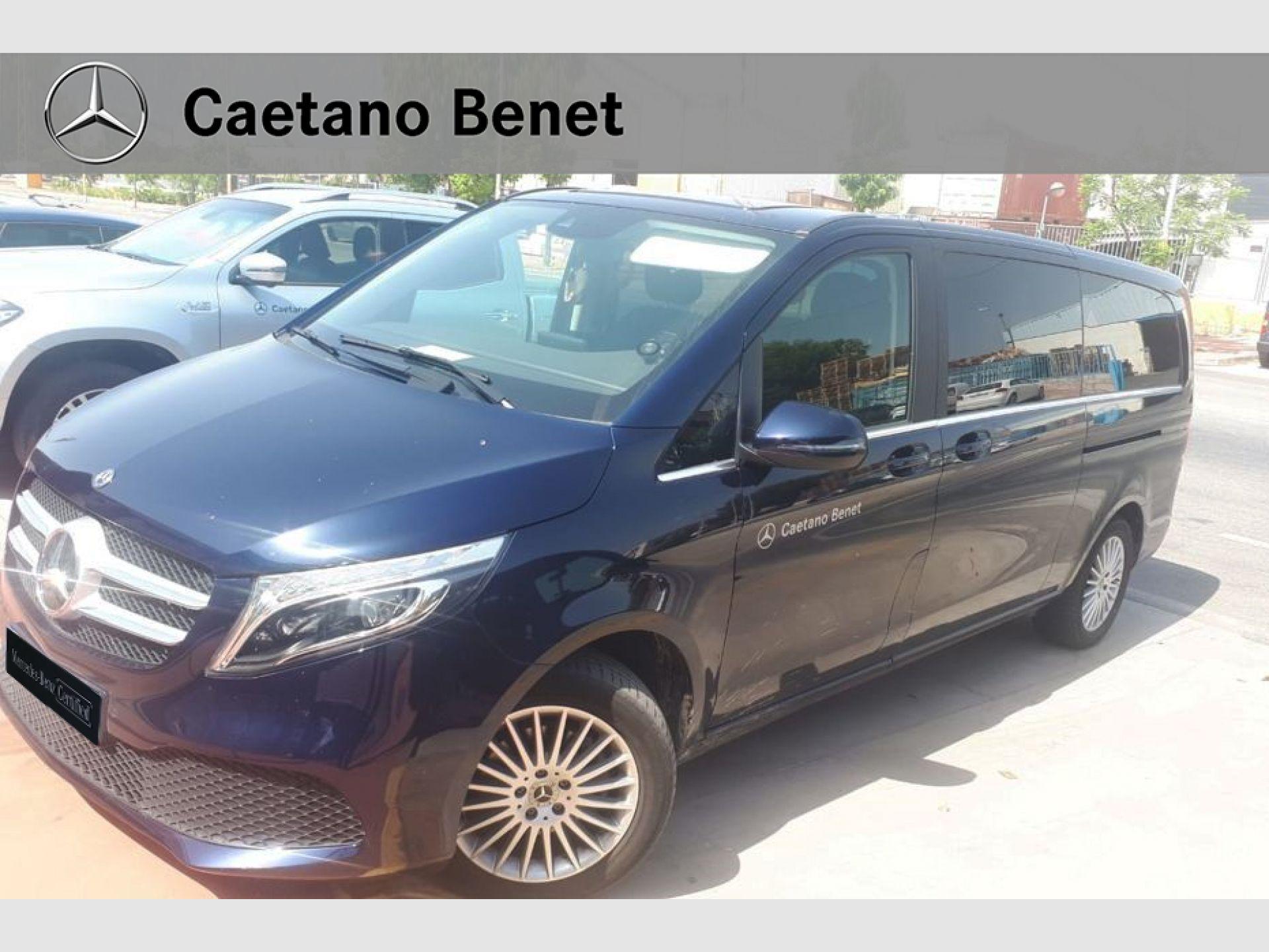 Mercedes Benz Clase V 220 d Avantgarde Extralargo segunda mano Málaga