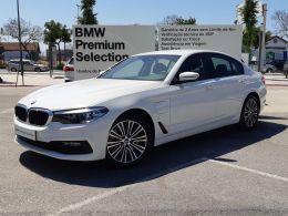 BMW Serie 5 530e iPerformance Line Sport C/IVA segunda mão Lisboa