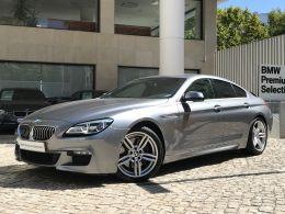 BMW Serie 6 640d xDrive Gran Coupe Pack M segunda mão Lisboa