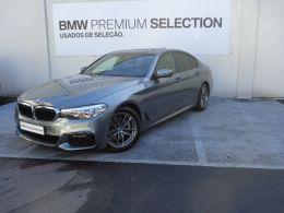 BMW Serie 5 520d Auto Pack M segunda mão Porto