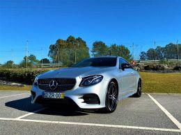 Mercedes Benz Classe E 220 d Coupé segunda mão Porto