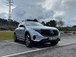 Mercedes Benz EQC EQ400 4MATICoupé segunda mão Porto