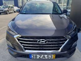 Hyundai Tucson 1.6 CRDi Premium+Pack Pele+Pack Style segunda mão Setúbal