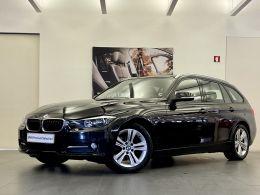 BMW Serie 3 318d Touring Line Sport segunda mão Lisboa
