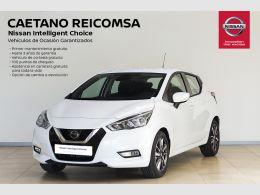 Nissan Micra 1.0G 66 KW (90 CV) ACENTA NISSAN CONNECT + CáMARA TRASERA segunda mano Madrid