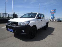 Toyota Hilux 2.4 D-4D Cabina Doble GX 4x4 segunda mano Madrid