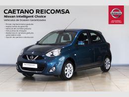 Nissan Micra 5p 1.2G ACENTA segunda mano Madrid