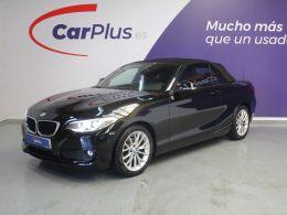 BMW Serie 2 218d cabrio segunda mano Madrid