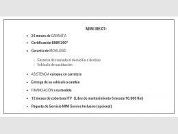 Mini Mini COOPER 5 PUERTAS segunda mano Madrid