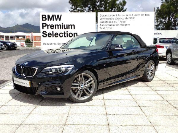 BMW Série 2 220d Auto Pack M usado (Lisboa)