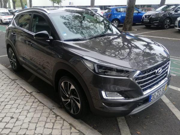 Hyundai Tucson segunda mão Lisboa