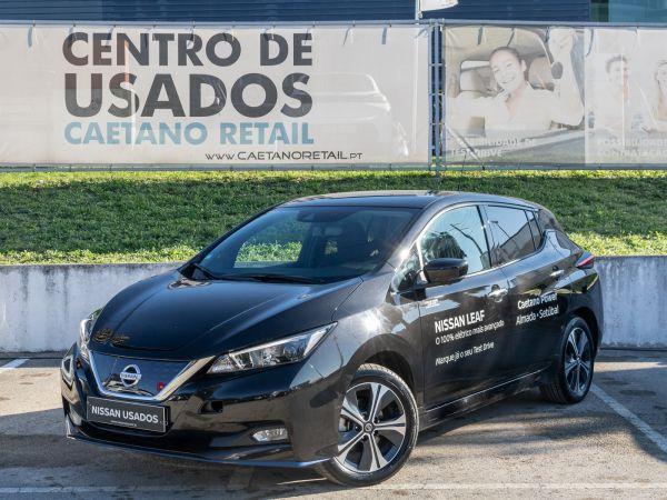 Nissan LEAF segunda mão Setúbal