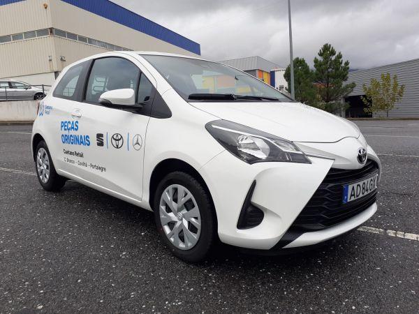 Toyota Yaris Yaris 1.0 3P ECOBizz usado (Castelo Branco)