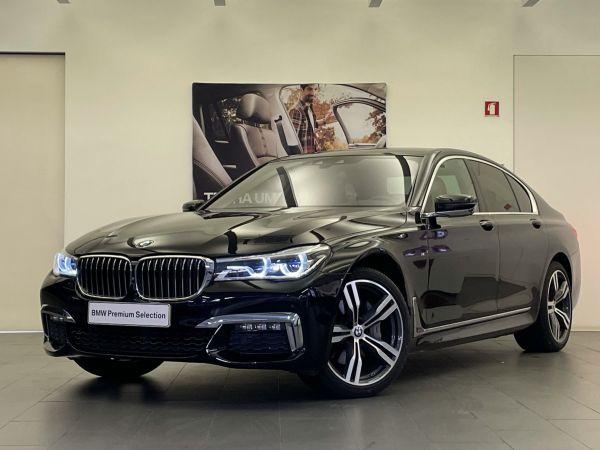 BMW Serie 7 segunda mão Lisboa